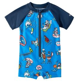 Under Armour SP21 BabyBoy Shark Pool Party Sunsuit