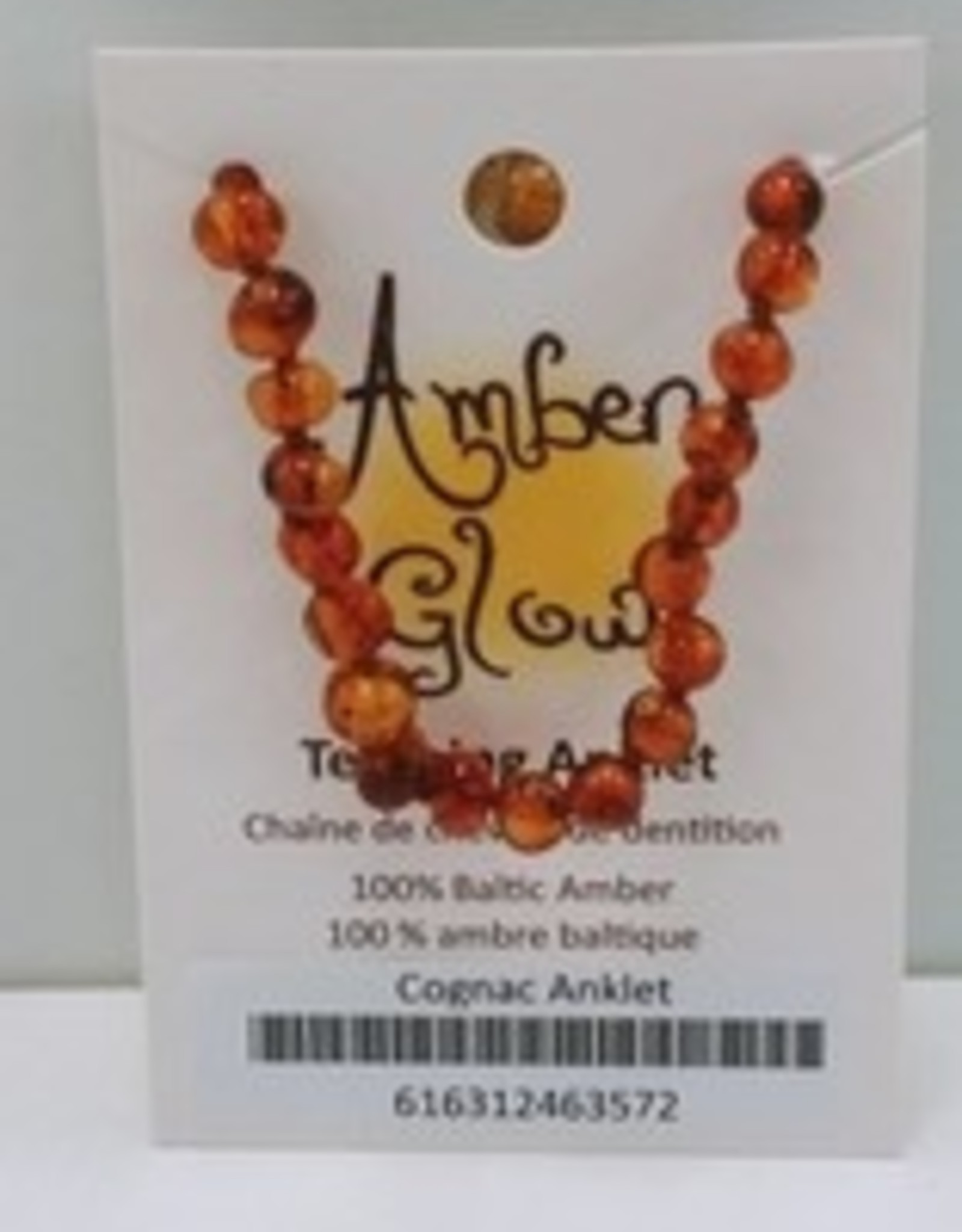 Amber Teething Anklet