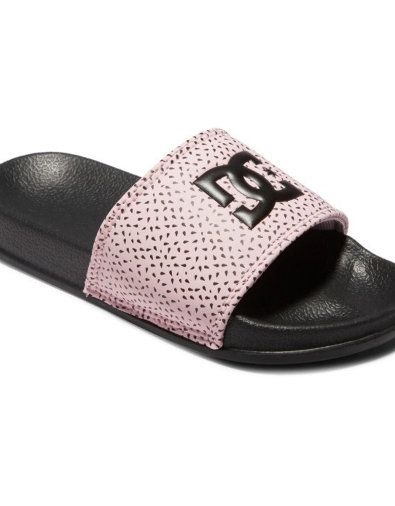 DC SP21 Yth Slide Pink/Blk