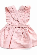 Beba Bean Pinafore Dress Pink