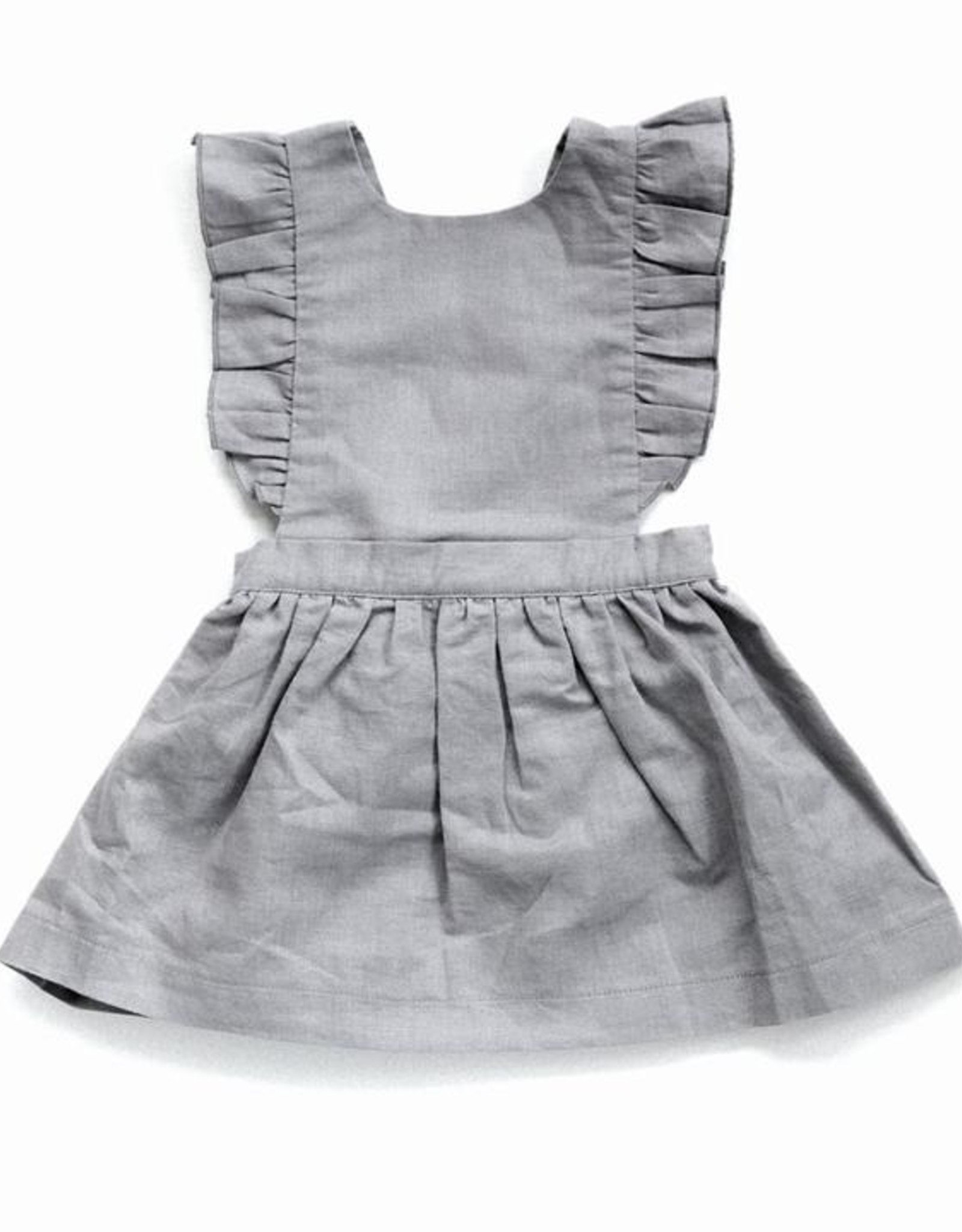 Beba Bean Pinafore Dress Grey