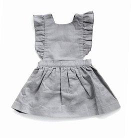 Beba Bean Pinafore Dress Grey