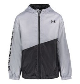 Under Armour SP21 B Yth Wintuck Windbreaker Grey