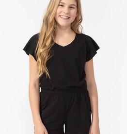 SP21 YthG Black Jumpsuit