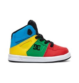 DC SP21 T Pure High-Top SE Rainbow