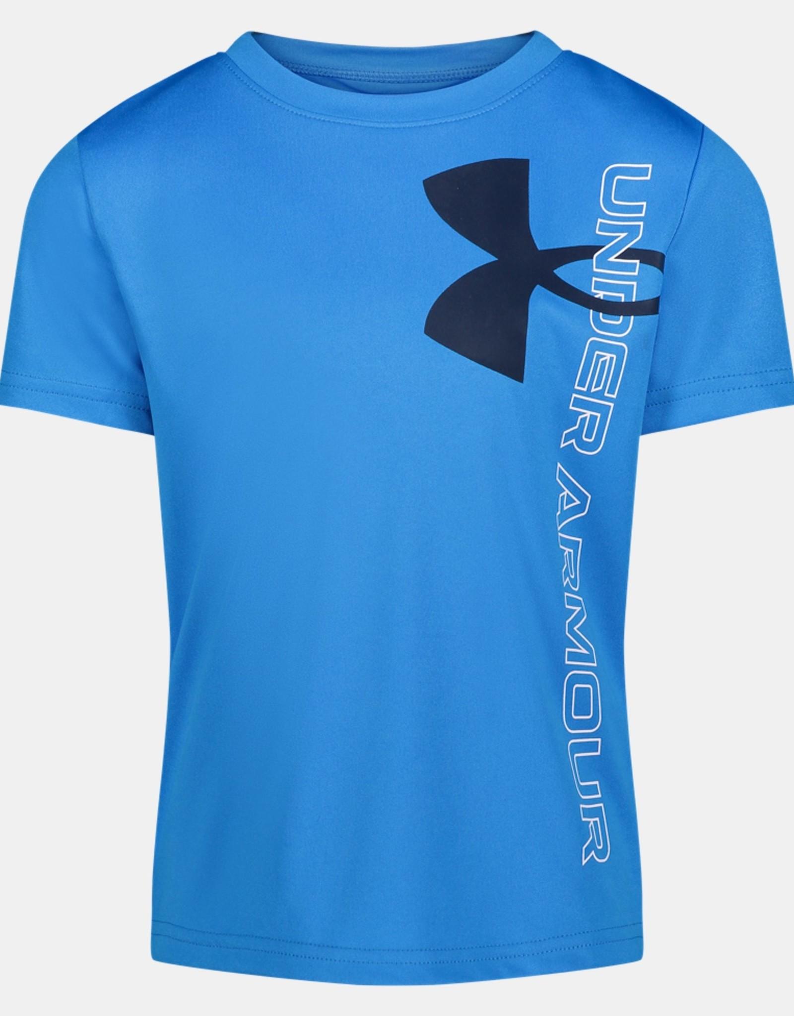 Under Armour SP21 Split Symbol T-Shirt Blue
