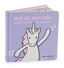 Jelly Cat Una The Unicorn Book