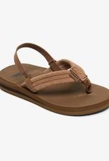 Quiksilver SP21 T Carver Suede Sandal Tan