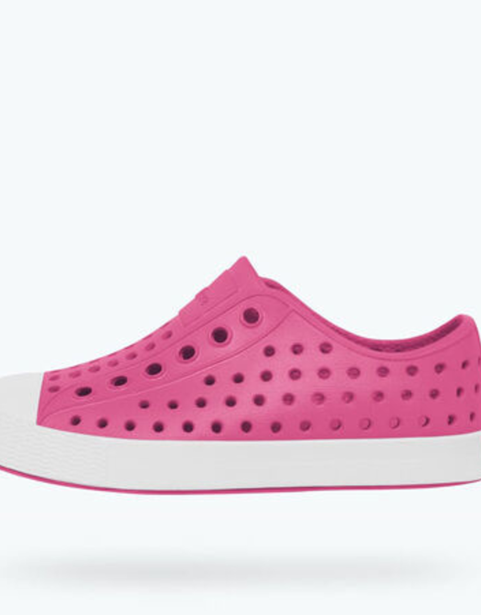 Native SP21 Jefferson Youth - Hollywood Pink / Shell White