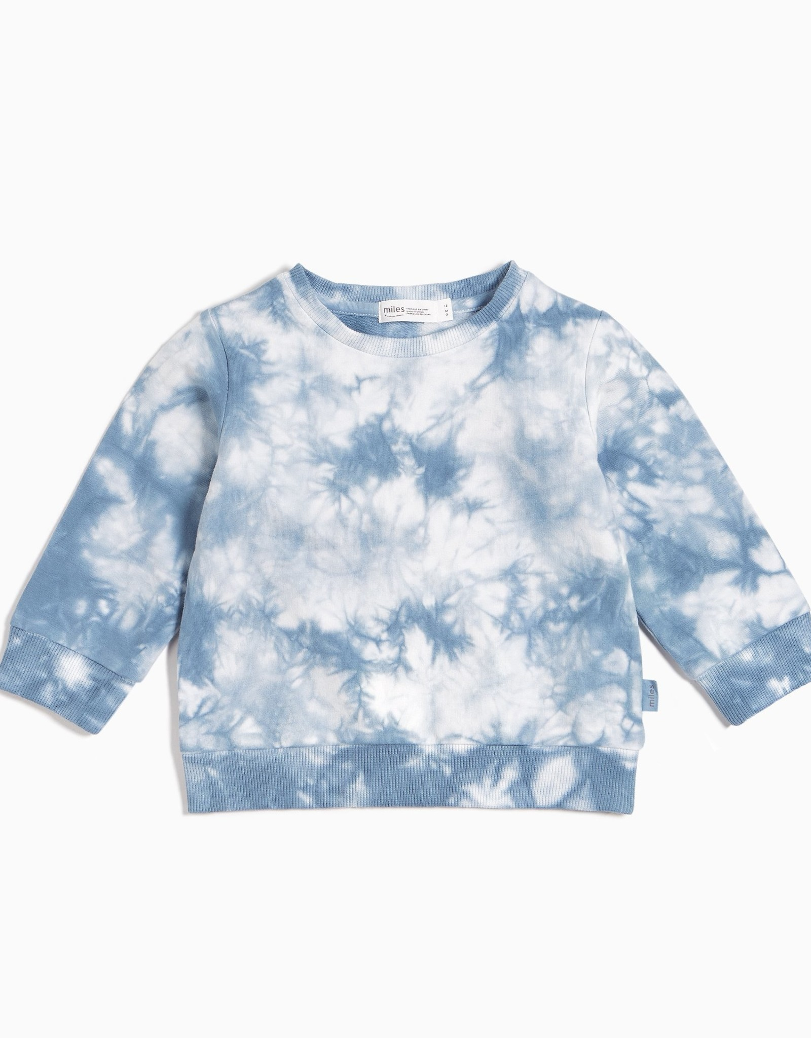 Miles SP21 Blue Tye Dye Sweatshirt