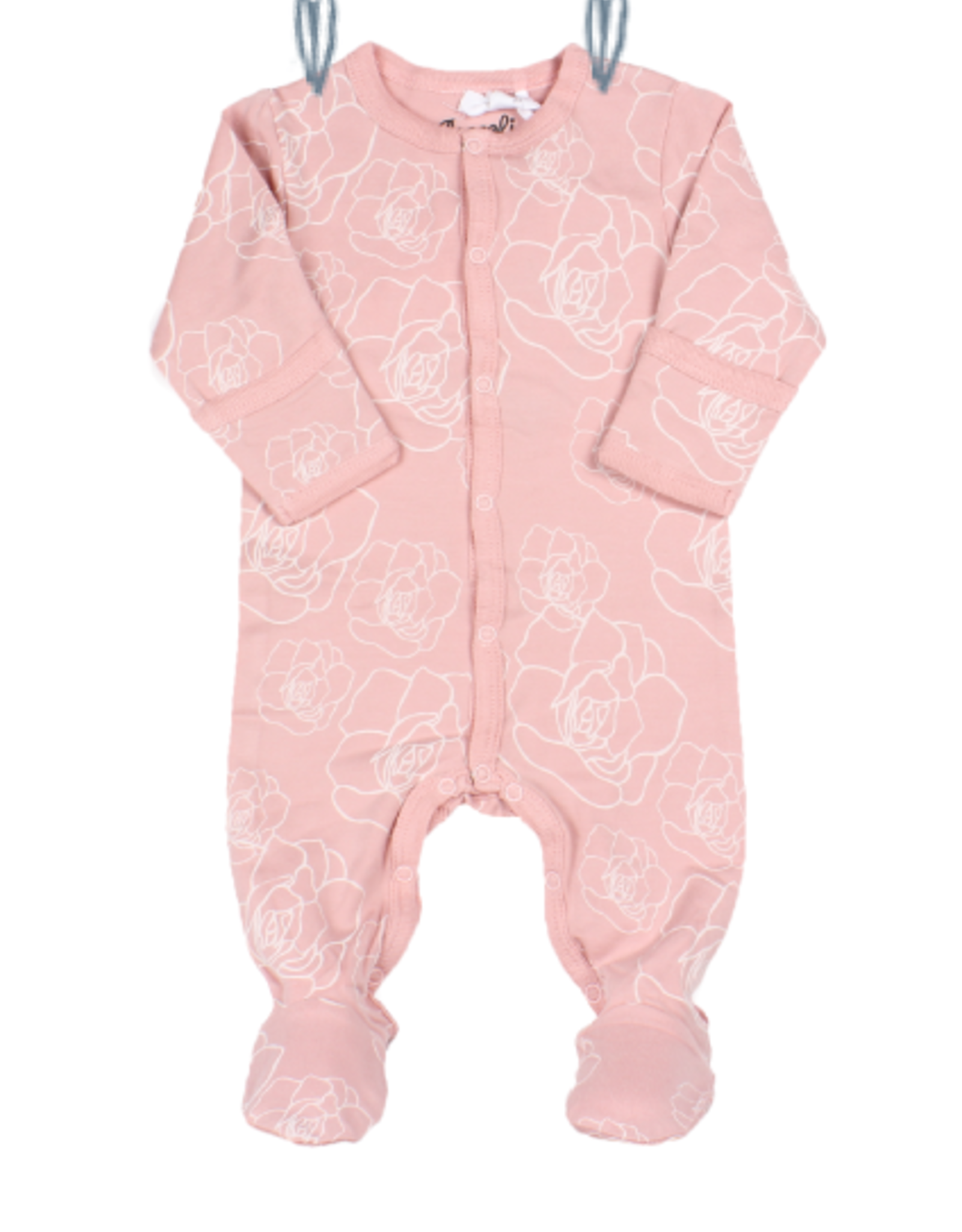 Coccoli SP21 Pink Rose Zip Sleeper