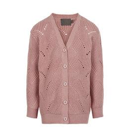 Creamie SP21  Pink Knit Cardigan