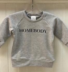 Posh & Cozy SP21 Homebody Crewneck - Grey