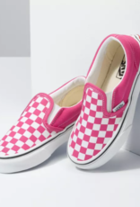 Vans SP21 Y Slip On  Checker Fuchsia
