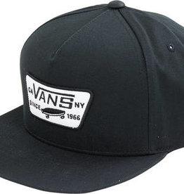Vans SP21 Classic Patch Snapback Blk 2-5Y