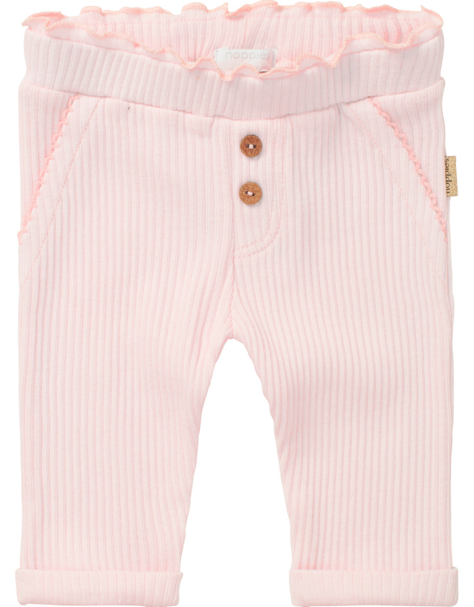 Noppies SP21 BbyG Pink Mascouche Pant