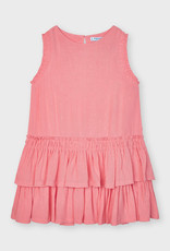 Mayoral SP21 G Coral Ruffle Dress