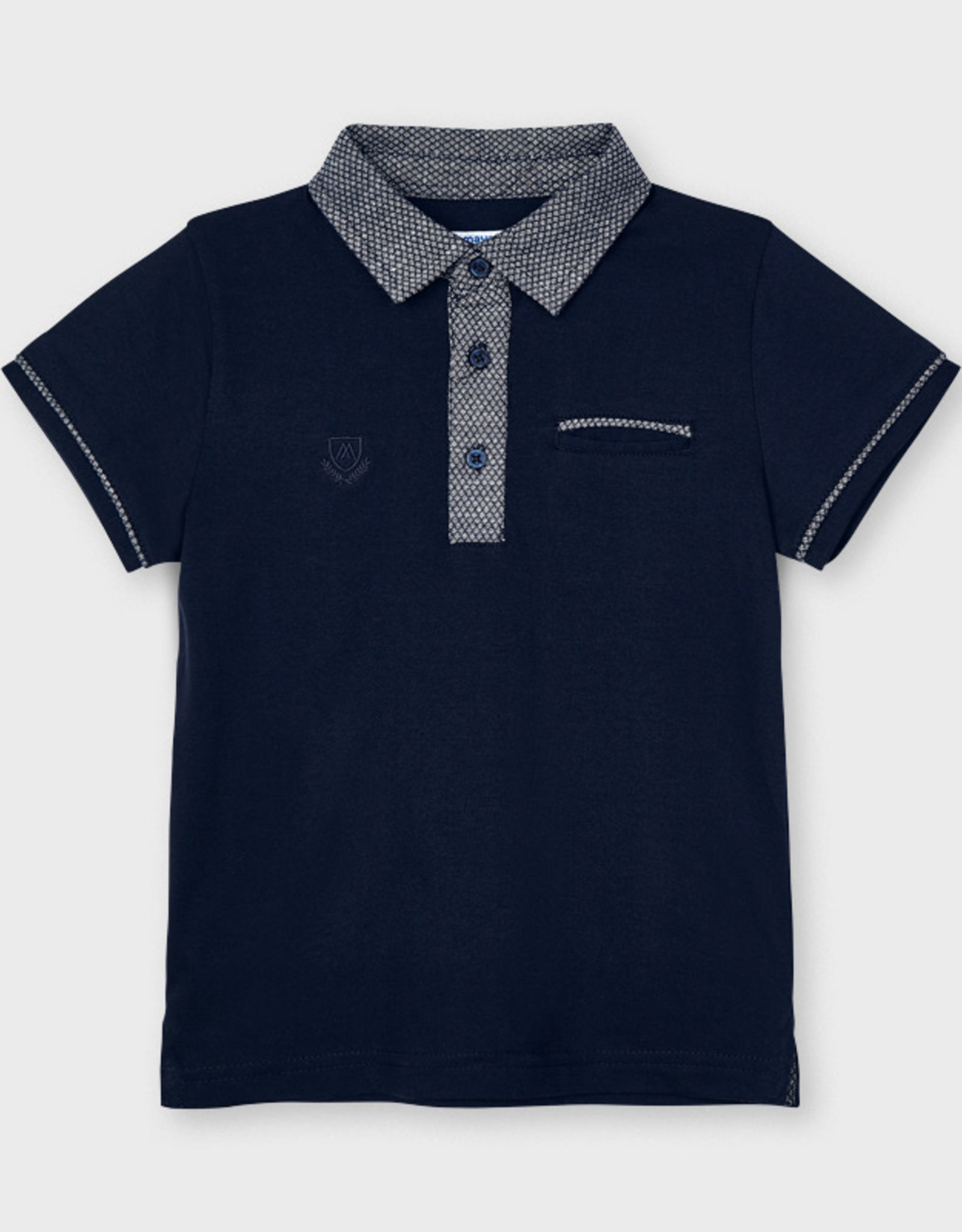 Mayoral SP21 B Navy Polo T-Shirt