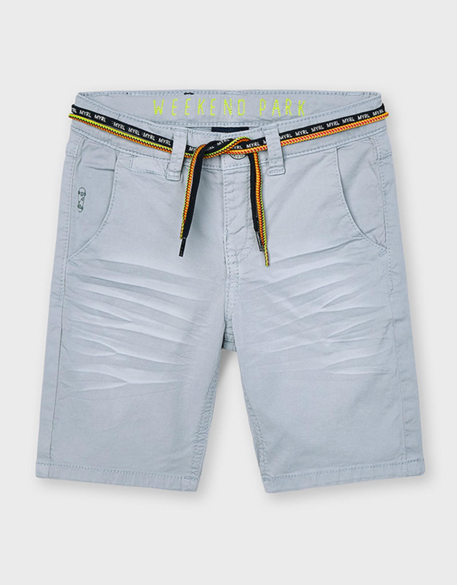 Mayoral SP21 B Grey Bermuda Shorts