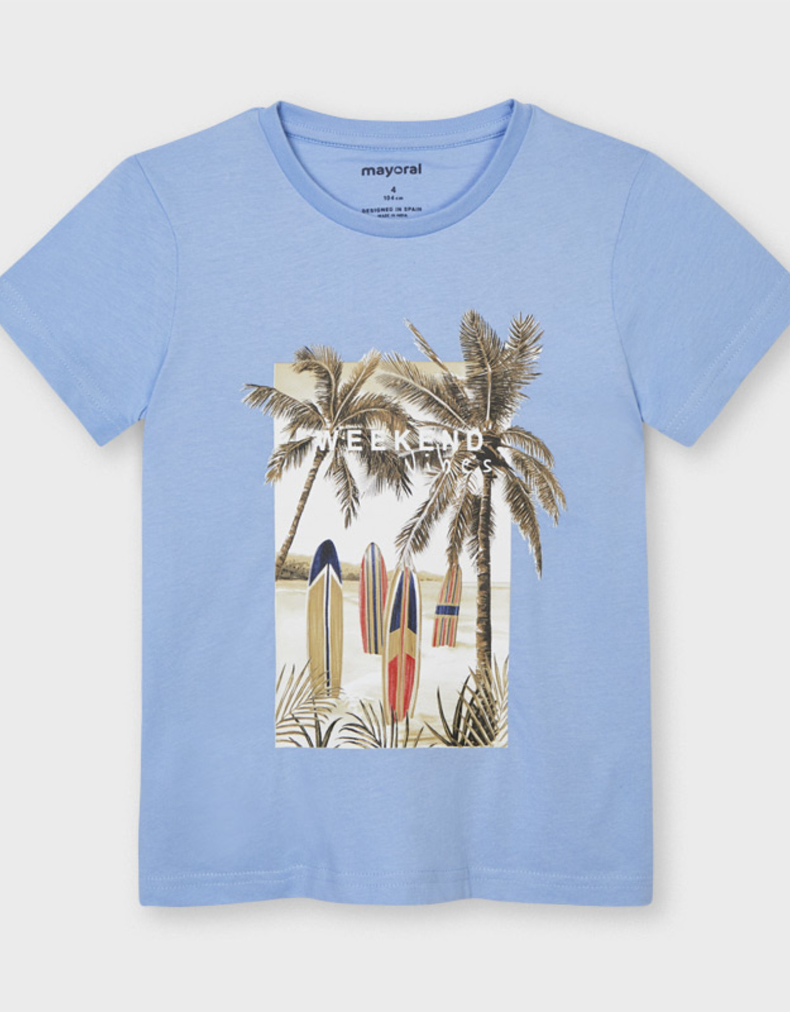 Mayoral SP21 B Weekend Vibes T-Shirt