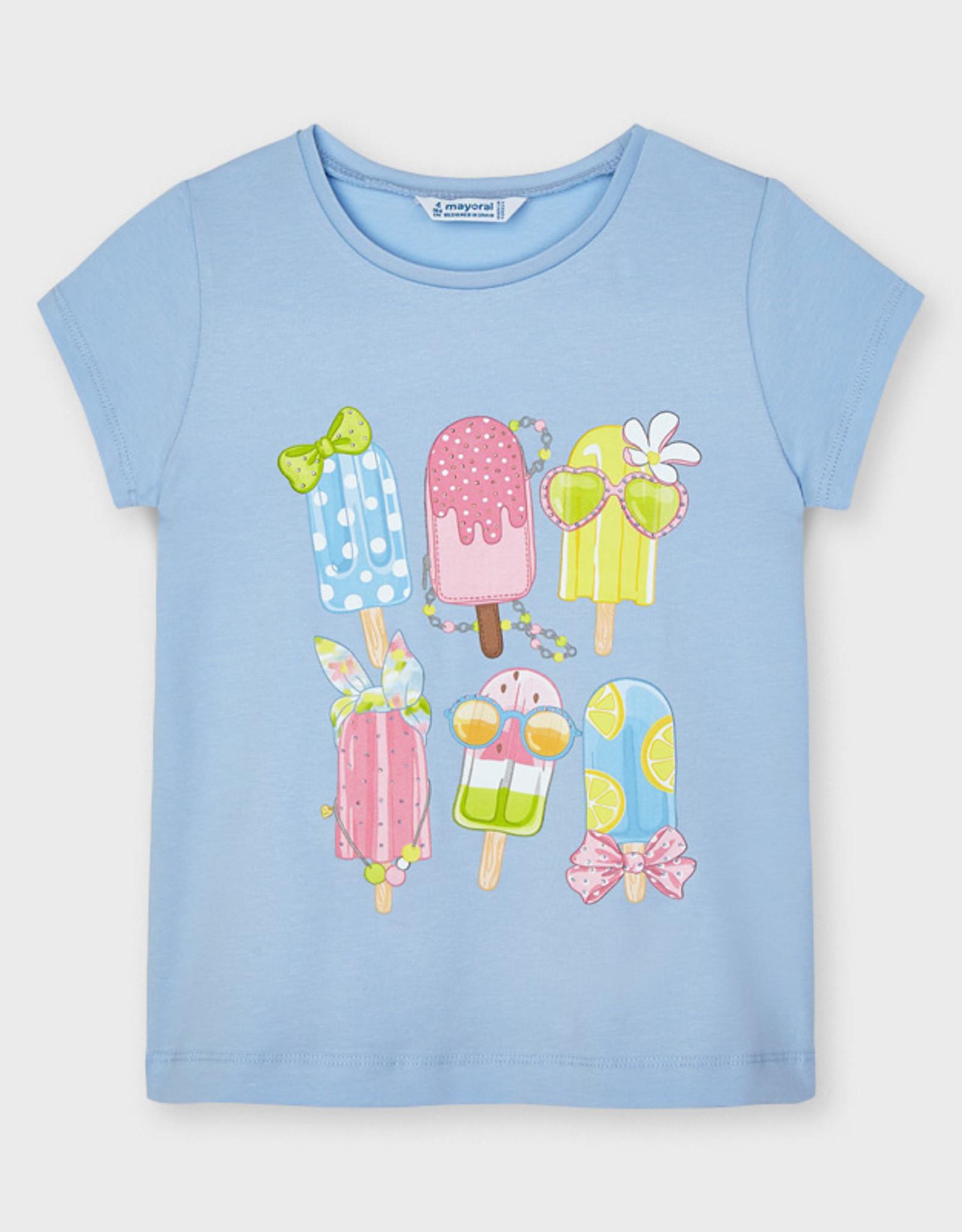 Mayoral SP21 G Blue Popsicle T-Shirt