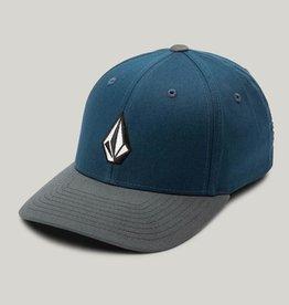 Volcom Full Stone XFit Hat- Navy/Grey