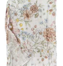 LouLou Lollipop Single Swaddle - Secret Garden