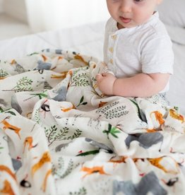 LouLou Lollipop Lou Lou Single Swaddle - Safari Jungle