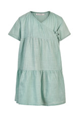 MinyMo SP21 G Green Wrap Dress