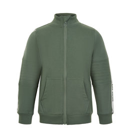 MinyMo SP21 B Green Zip Sweater