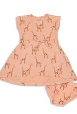 Silkberry SP21 G Giraffe Tie Dress w/Bloomers