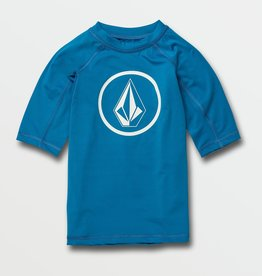 Volcom SP21 B Blu Rash Guard