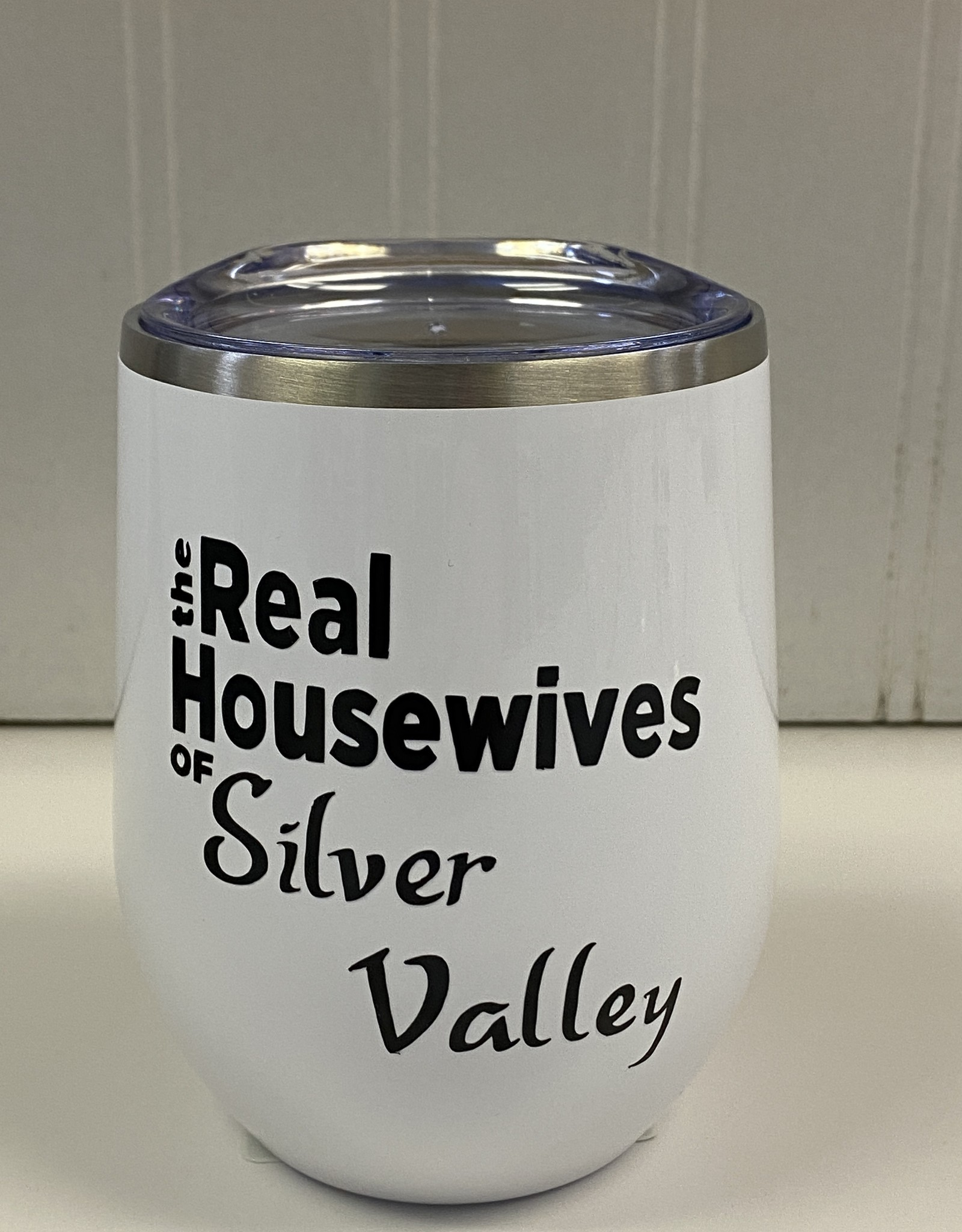 Cheers My Dears RH Silver Valley Wine Insulated Tumbler