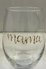 Cheers My Dears Mama Stemless Wine Glass