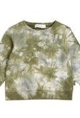 Miles SP21 Green Tie Dye Sweatshirt