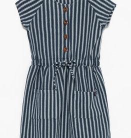 SP21 G Navy Stripe Dress