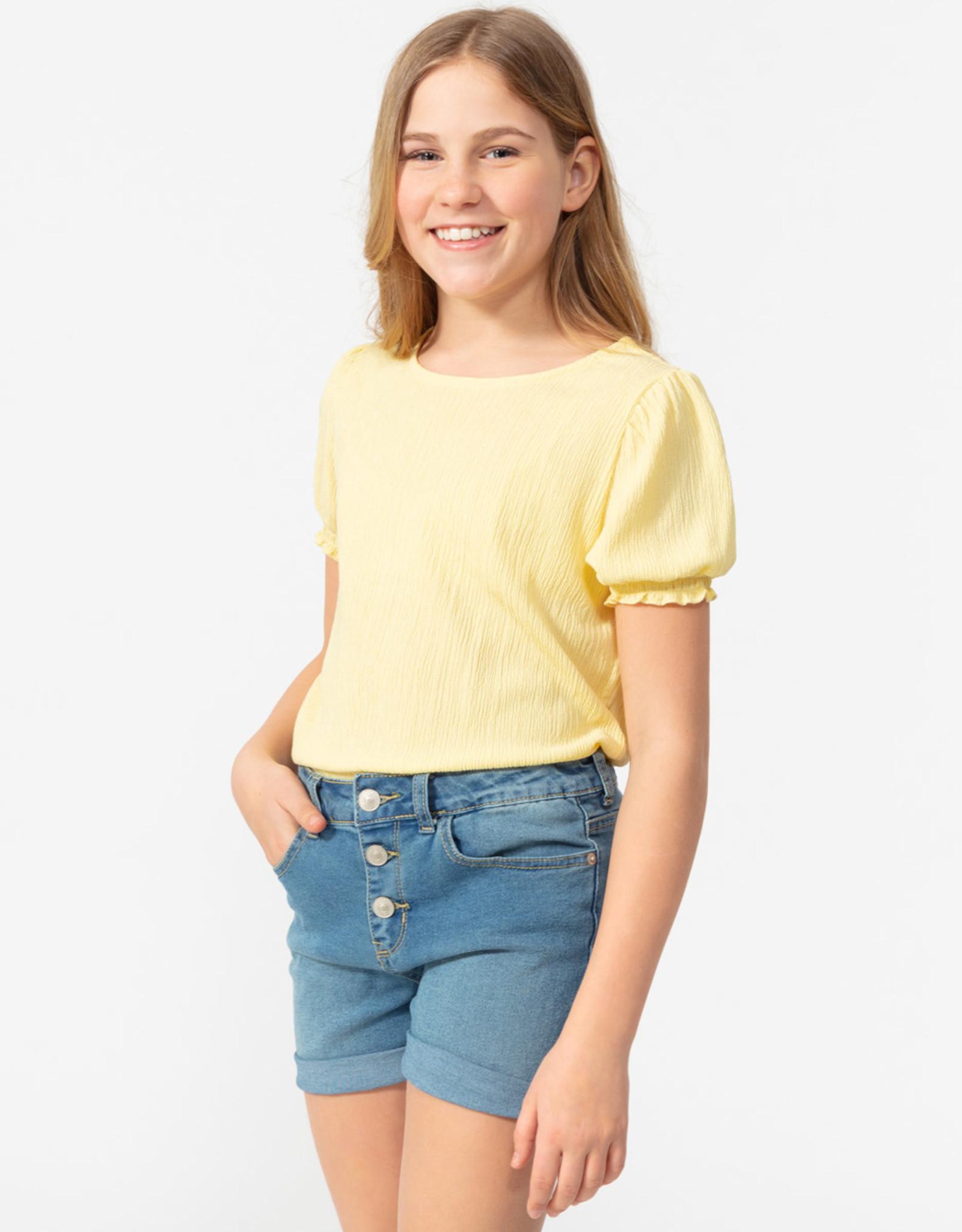 SP21 G Yth Yellow Blouse