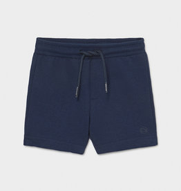 Mayoral SP21 BbyB Navy Fleece Shorts