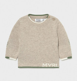 Mayoral SP21 BbyB Tan Sweater