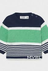 Mayoral SP21 BbyB Mint Sweater