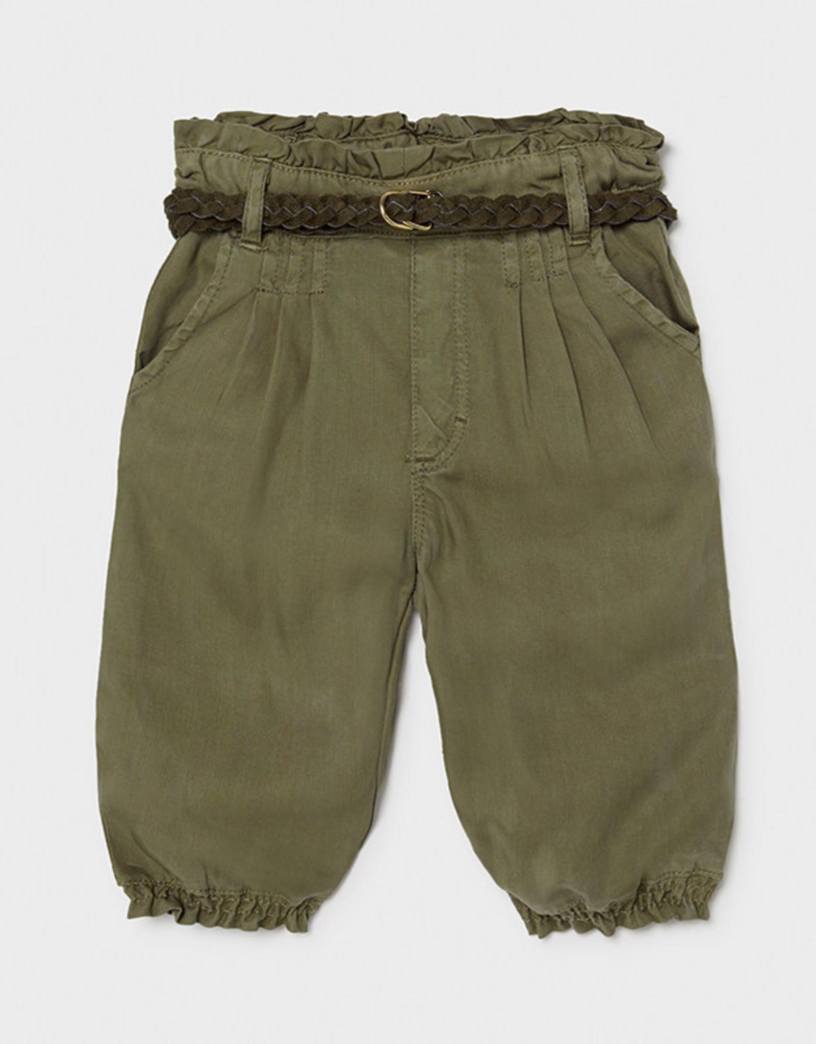 Mayoral SP21 BbyG Green Flowy Pants