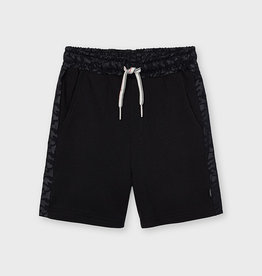 Mayoral SP21 B Knit Black Shorts