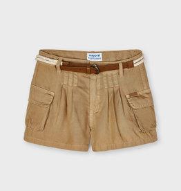 Mayoral SP21 G Tan Flowy Shorts