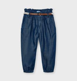 Mayoral SP21 G Blue Flowy Pants