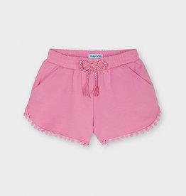 Mayoral SP21 G Pink Tasseled Shorts