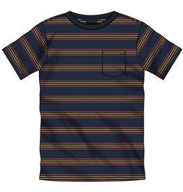 Vans SP21 Boys Chaparal Stripe Blue Tee