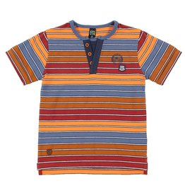 Nano SP21 B 3 Button Striped T-Shirt