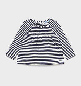 Mayoral SP21 Bby G Stripe Shirt Navy