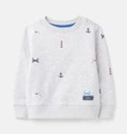 Joules SP21 B Crew Sweatshirt Grey