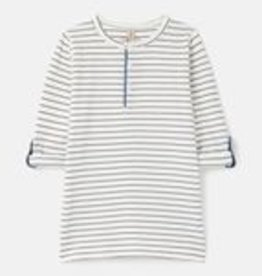 Joules SP21 B Stripe Button Up Tshirt